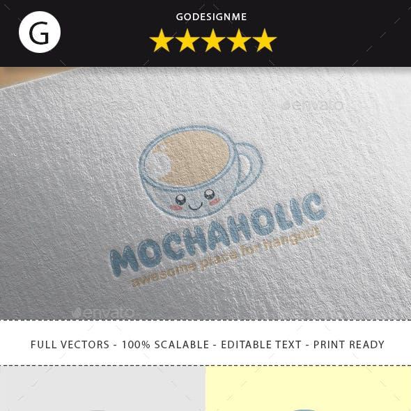 Mochaholic Logo Design