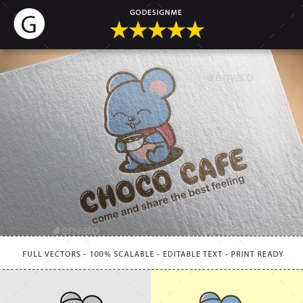 Choco Cafe Logo Design