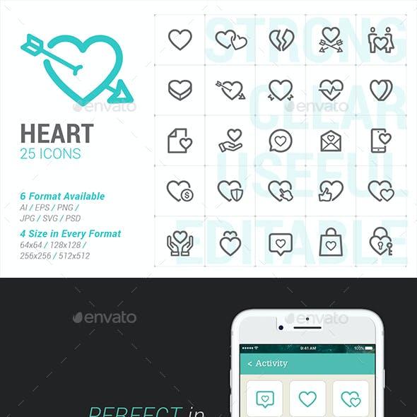 Heart & Love Mini Icon