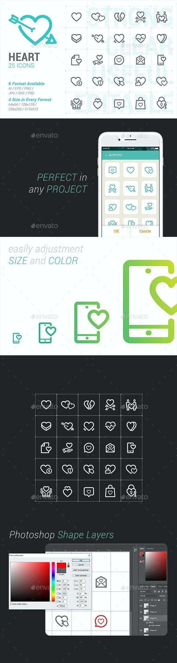 Heart & Love Mini Icon - Miscellaneous Icons