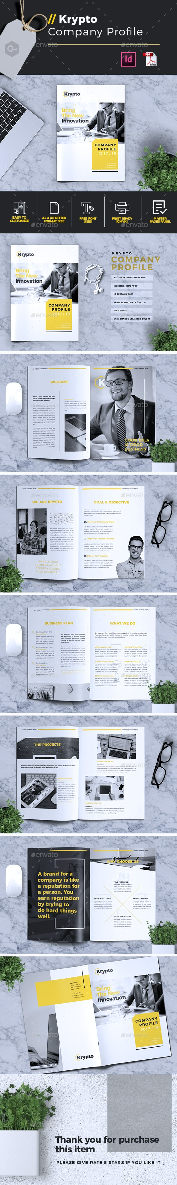 Krypto | Company Profile - Corporate Brochures