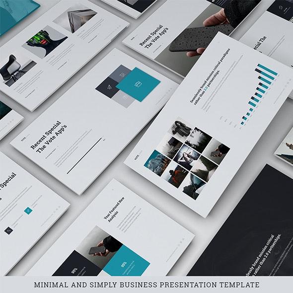 Vote - Simply Template (Google Slide) - Google Slides Presentation Templates