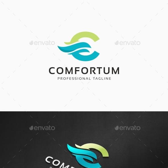 Comfortum - C Letter Logo