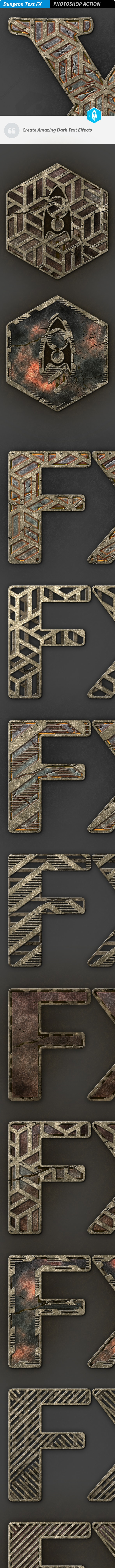 Dungeon Text FX - Text Effects Actions