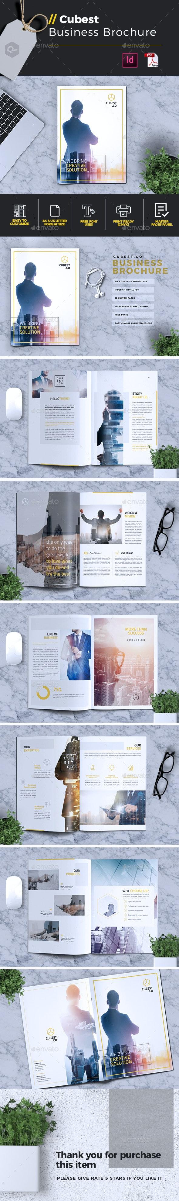 Cubest | Business Brochure - Corporate Brochures