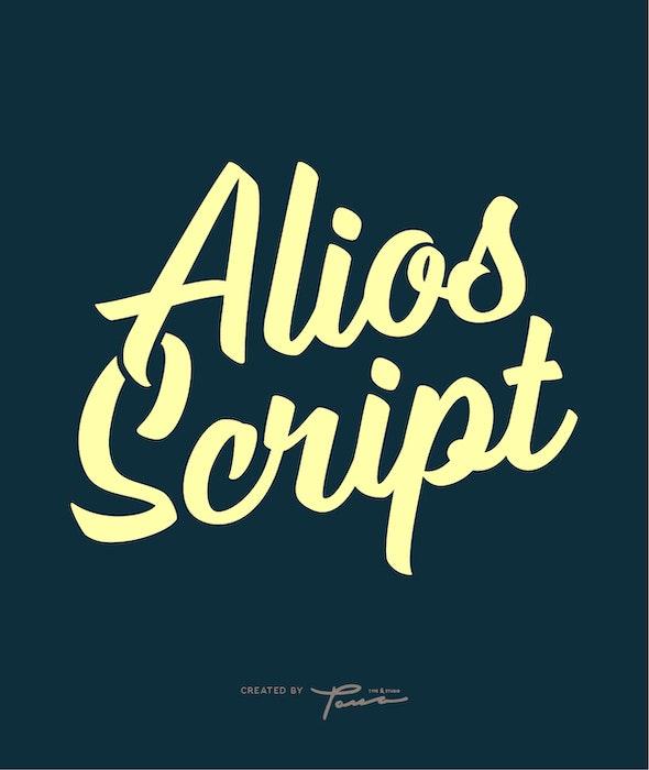 Alios Script - Script Fonts