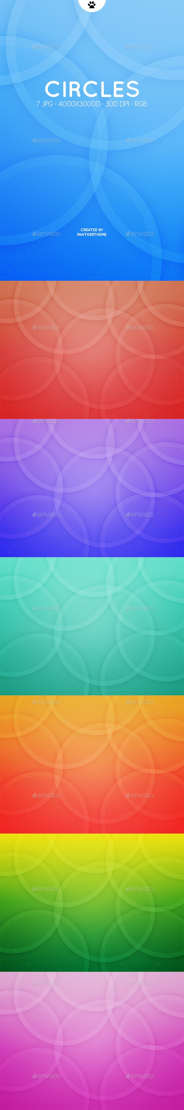 Circles Backgrounds - Abstract Backgrounds