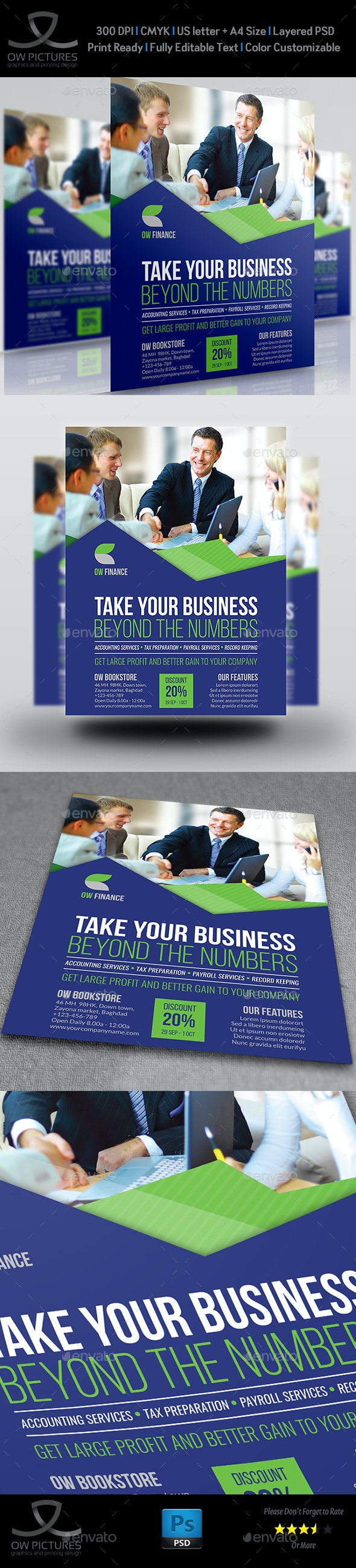 Accounting Firm Flyer Template - Corporate Flyers
