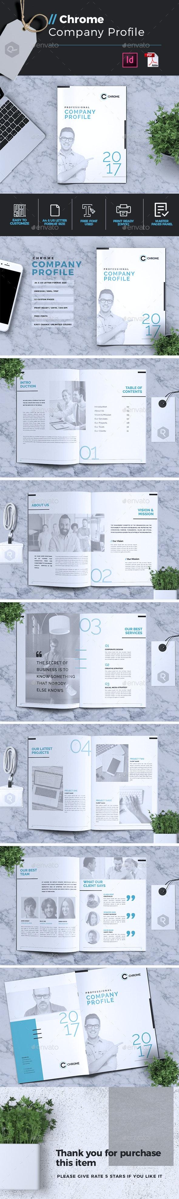 Chrome | Company Profile - Corporate Brochures