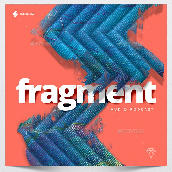 Fragment - Music Album Cover Artwork Template