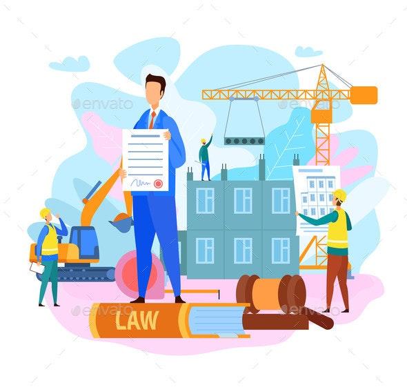 Legal Protection Construction Court Decision - Industries Business