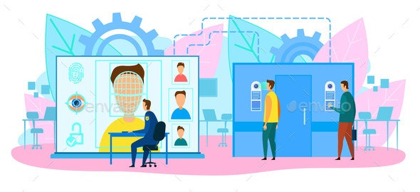 Software Engineers in Lab Designing AI Chatbot - Miscellaneous Conceptual
