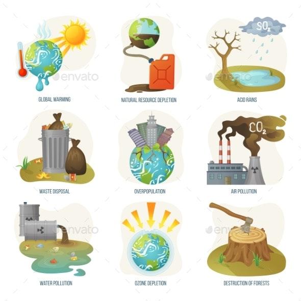 Global Warming Natural Resource Depletion Problems - Flowers & Plants Nature