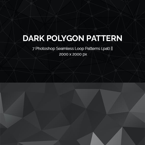 Polygon Seamless Loop Photoshop Patterns