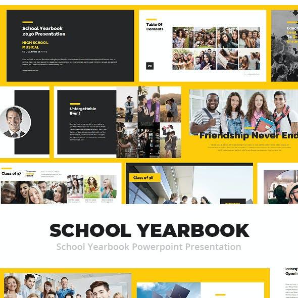 School Yearbook Powerpoint Presentation
