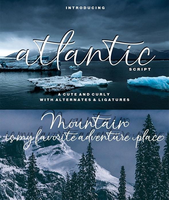 Atlantic Script - Script Fonts