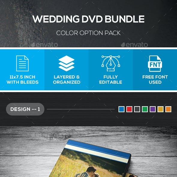 [Bundle] Wedding DVD Cover