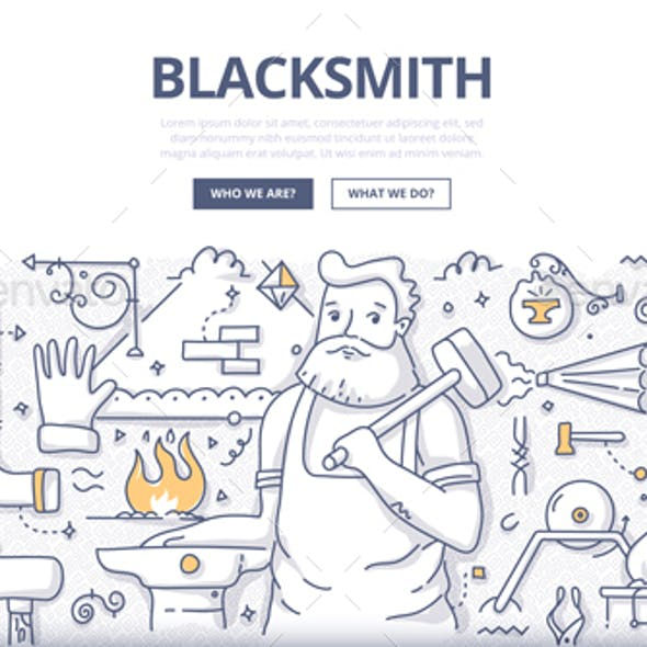 Blacksmith Doodle Concept