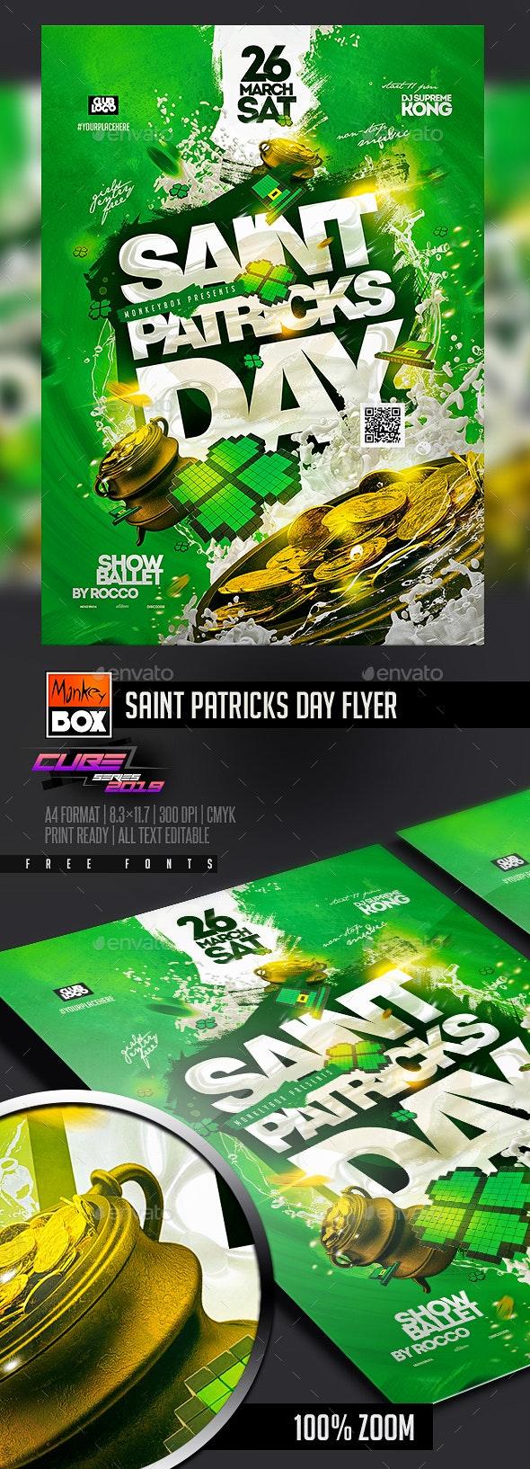 Saint Patricks Day Flyer - Clubs & Parties Events