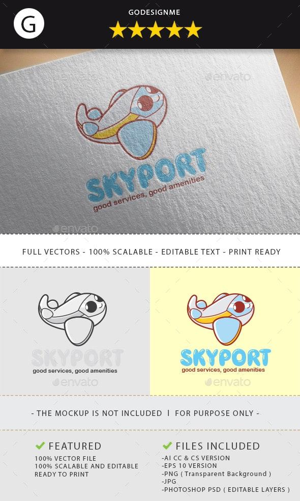 Skyport Logo Design - Vector Abstract