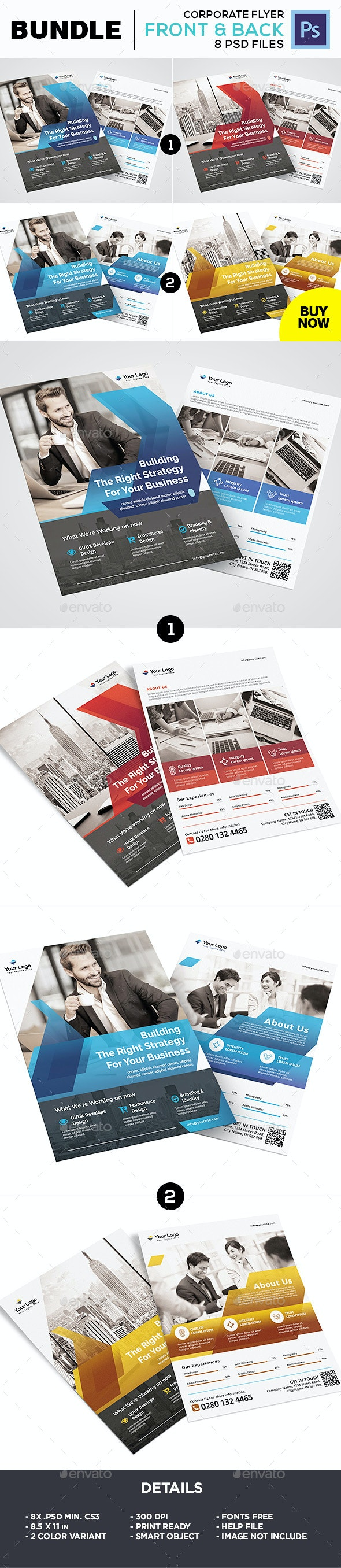 Business Flyer Bundle - Corporate Flyers