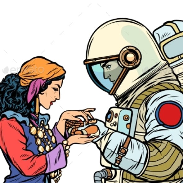 The Fortune Teller and an Astronaut