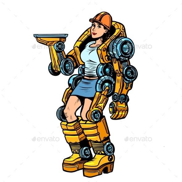 Woman Loader Exoskeleton