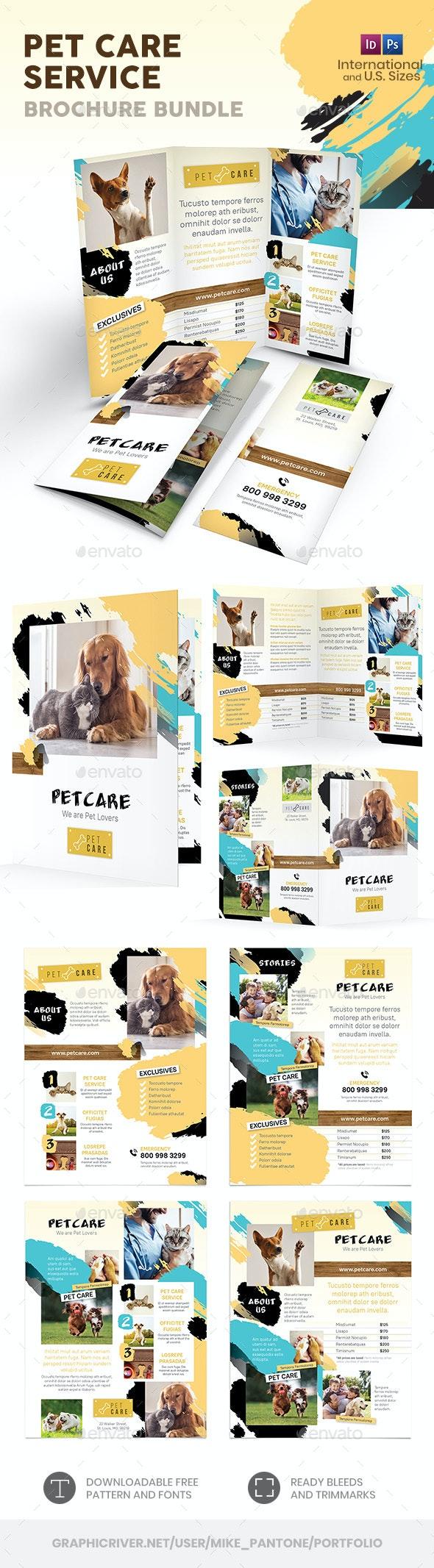 Pet Care Print Bundle 8 - Informational Brochures