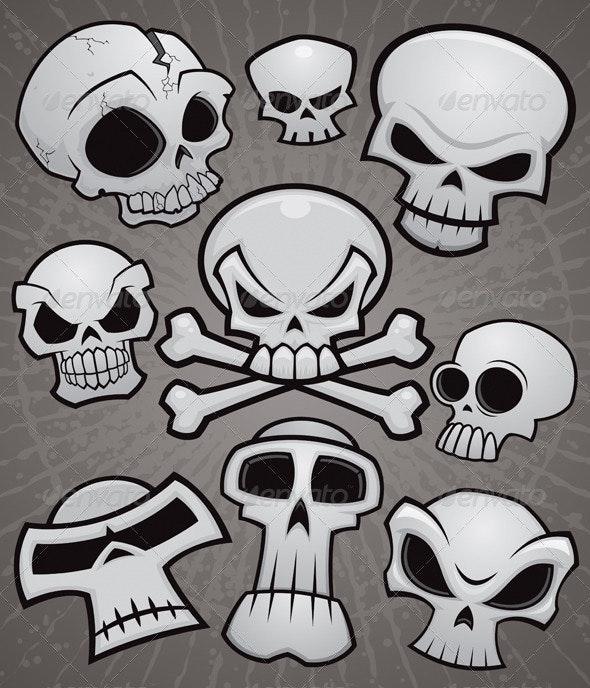 Cartoon Skull Collection