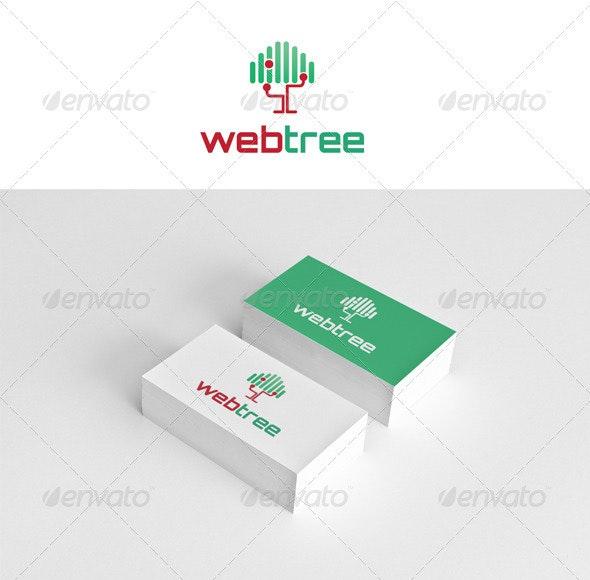 Web Tree  - Nature Logo Templates
