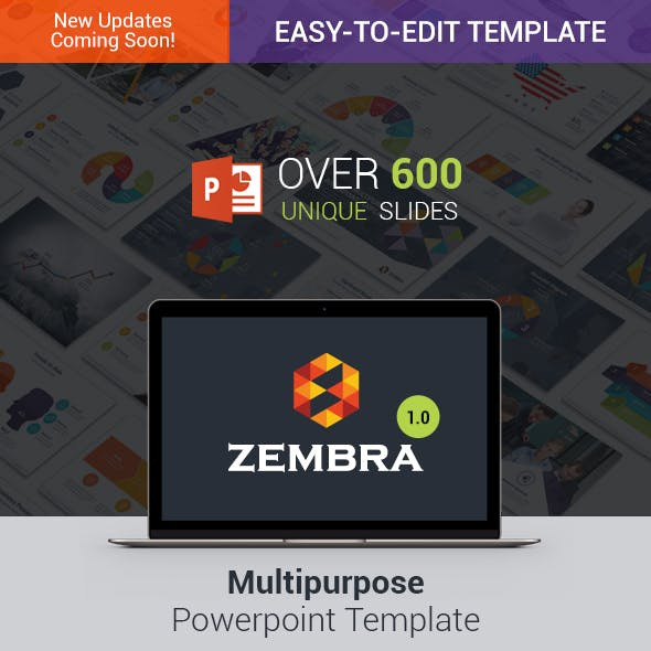 Zembra | MultiPurpose PowerPoint Template