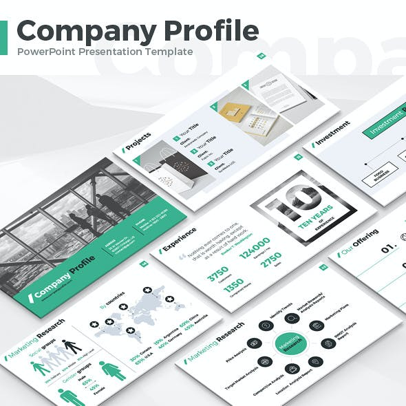 Company Profile - PowerPoint Presentation Template