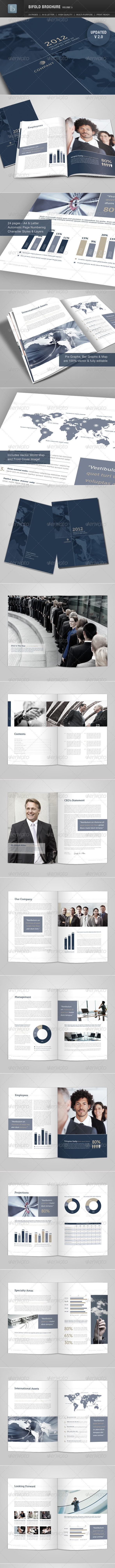 Bifold Brochure | Volume 3 - Corporate Brochures