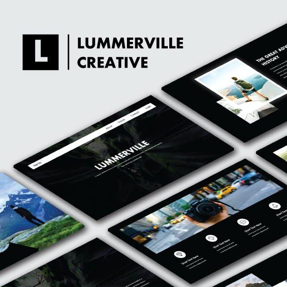 Lummerville Creative Keynote Templates