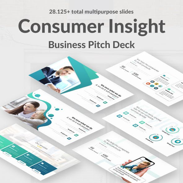 Consumer Insight Pitch Deck Keynote Template