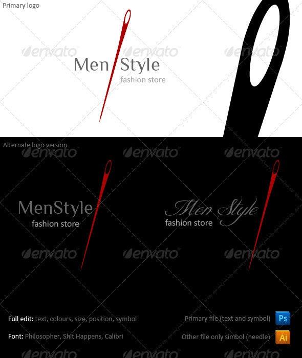 Sartoriale Fashion Logo - Symbols Logo Templates