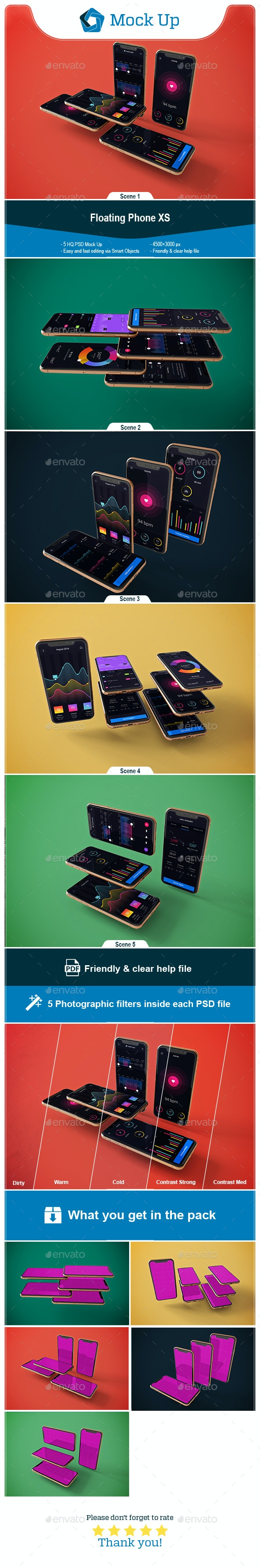 Floating Phone XS - Mobile Displays
