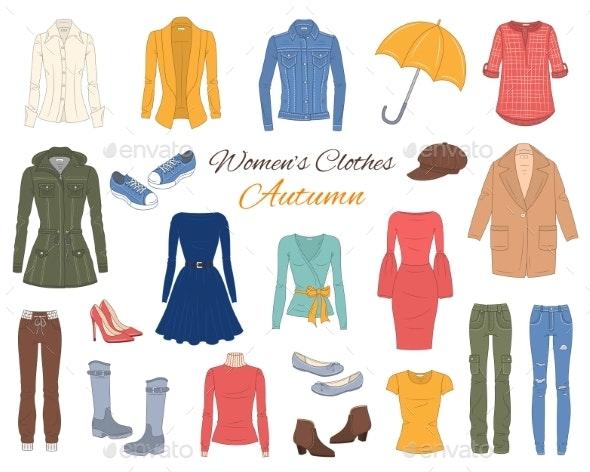 Female Fashion Set - Man-made Objects Objects