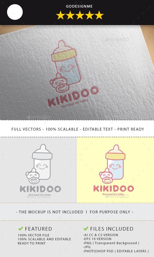 Kikidoo Logo Design - Vector Abstract