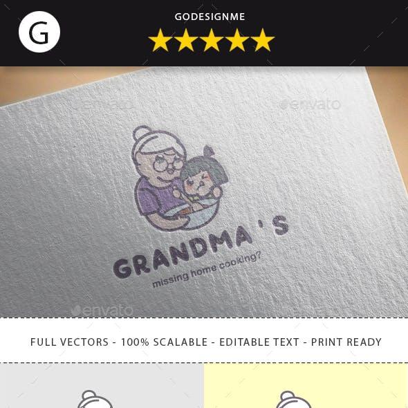 Grandma's Logo Design