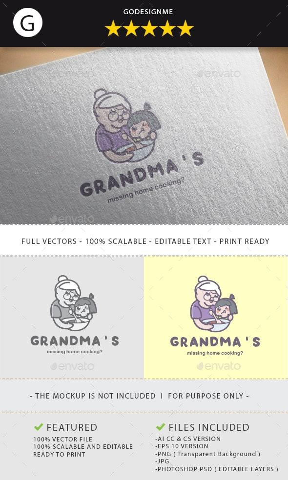 Grandma's Logo Design - Vector Abstract