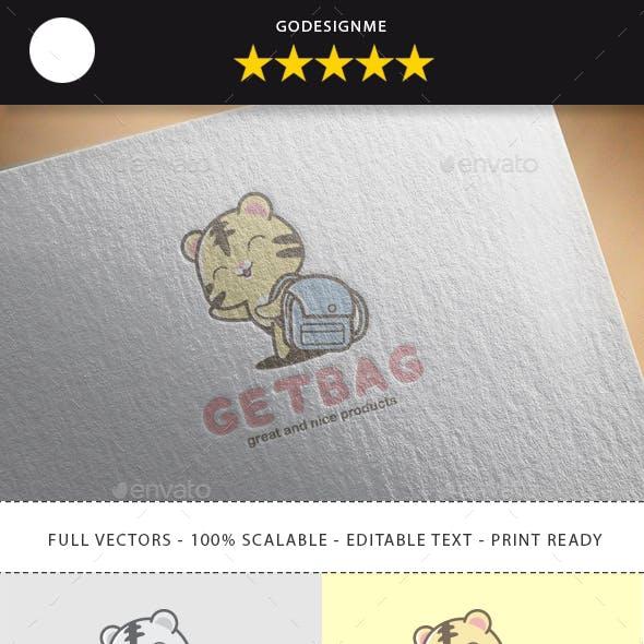 Getbag Logo Design