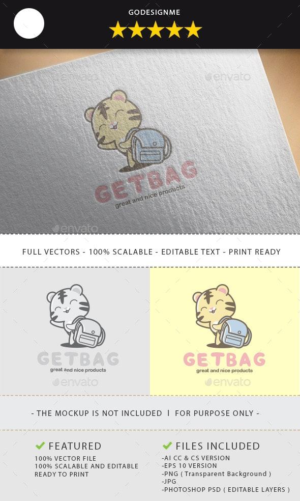 Getbag Logo Design - Vector Abstract