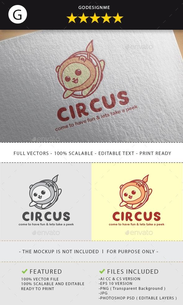 Circus Logo Design - Vector Abstract