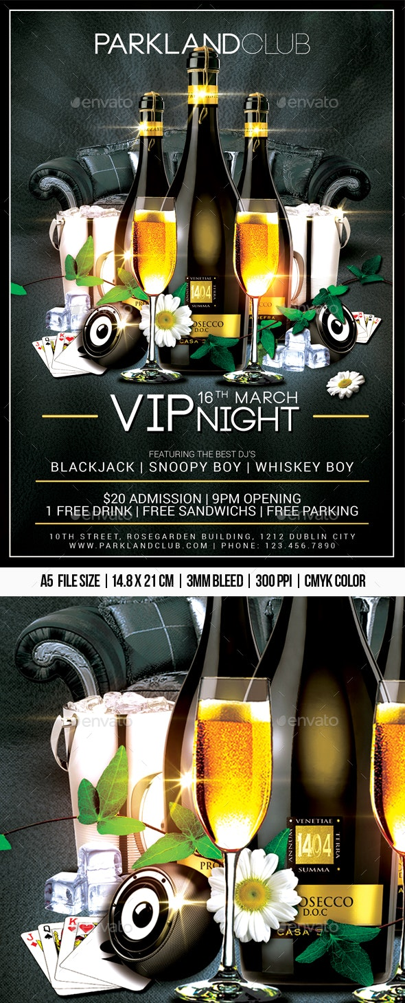 VIP Night - Clubs & Parties Events