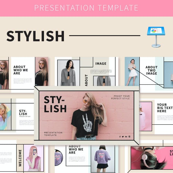 Stylish Keynote Temp