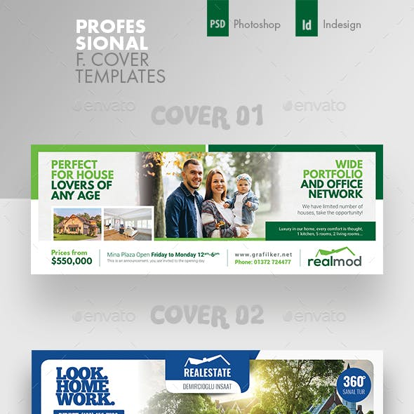 Real Estate Cover Bundle Templates