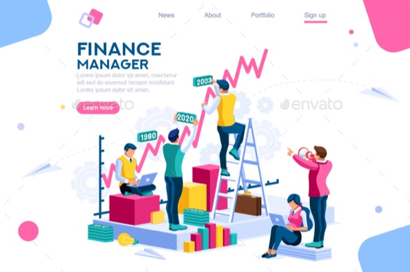 Finance and Engineering Concept Vector - Concepts Business