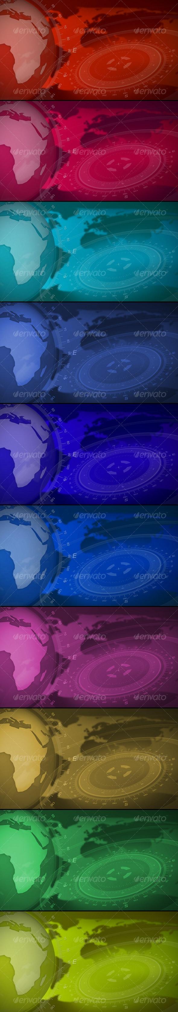Broadcast Design Backgrounds - Backgrounds Graphics