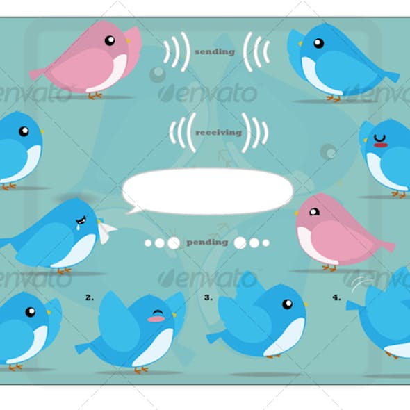 Cute Twitter Graphic